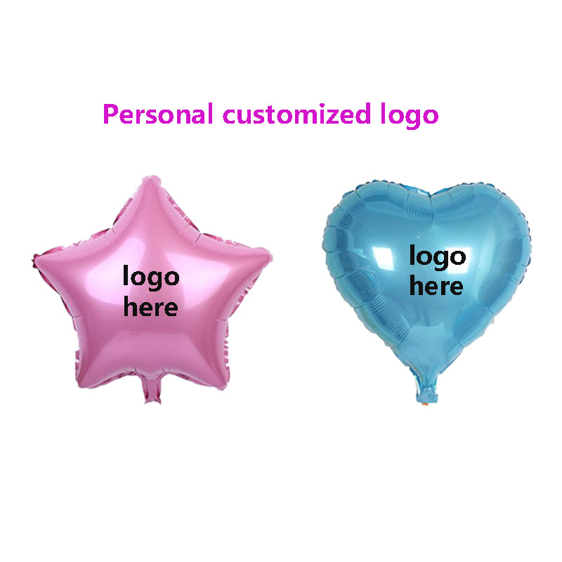 Customized Party Balloons Personalized Globo Print Name Logo For