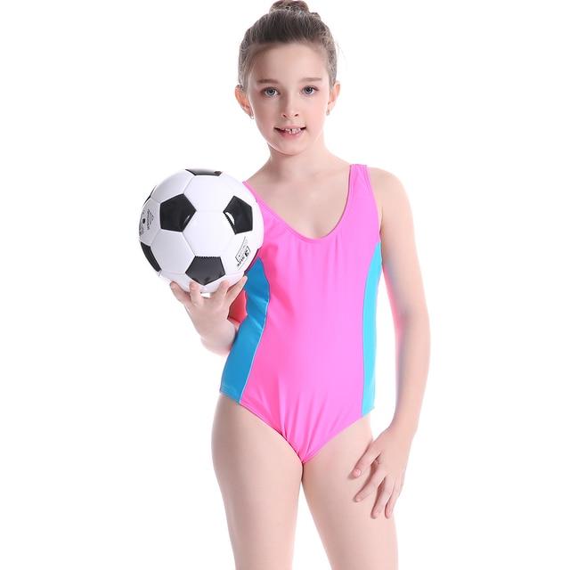 348f43fba0df4d 2019 Professionele Kinderen Badmode Meisje Een Stuk Badpak Kinderen Meisjes  Sport Badmode Baby Bikini Badpak zwemkleding