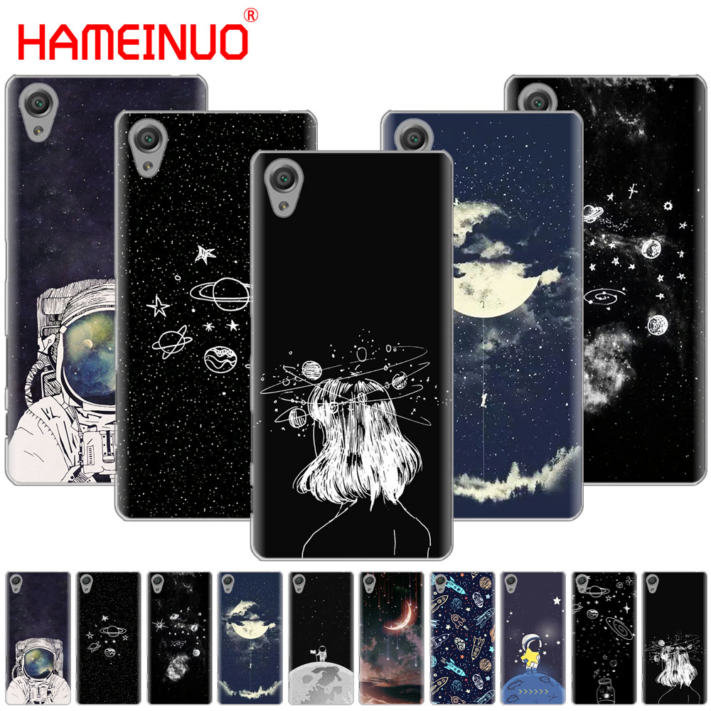 Phone Bags & Cases Buy Cheap Space Love Sun And Moon Star Drawing Cover Phone Case For Sony Xperia C6 Xa1 Xa2 Xa Ultra X Xp L1 L2 X Xz1 Compact Xr/xz Premium To Suit The PeopleS Convenience Cellphones & Telecommunications