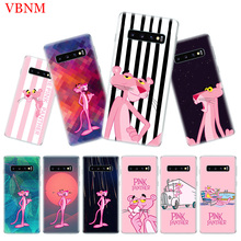 Pink Panther Popular Soft Phone Case for Samsung Galaxy S10 Plus S10E A50 A70 A30 A10 A20E M40 M30 M20 M10 A20 A80 A40 A60 Cover