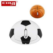 2.4Gzh Беспроводная баскетбольная мышь 1200 dpi 3D эргономичная оптическая спортивная футбольная мышь с подставкой для запястья коврик для мыши комплект для ПК ноутбука
