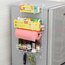 купить Kitchen Nevera Side Shelf Rack Sidewall Multipurpose Shelf Crack Storage Rack Multi-layer Holder Refrigerator Estante Fridge по цене 559.66 рублей