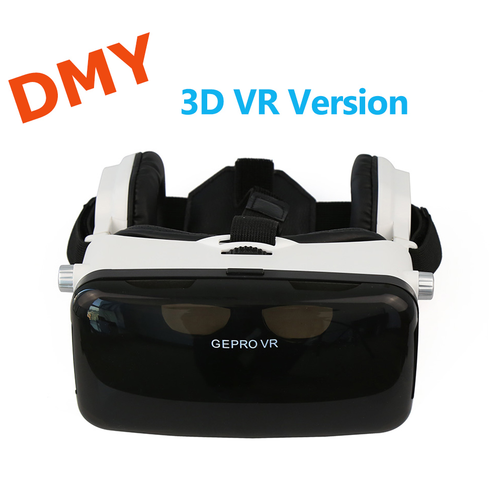 2016 new <font><b>GEPRO</b></font> <font><b>VR</b></font> <font><b>Virtual</b></font> <font><b>Reality</b></font> 3D <font><b>Glasses</b></font> <font><b>with</b></font> <font><b>Foldable</b></font> 3D Video Game Private Theater <font><b>with</b></font> Earphone for 4 - 6 inch phone