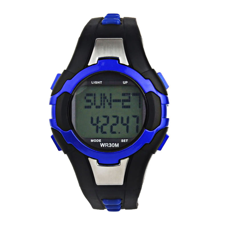 Digital Watches Fashion Luxury Waterproof Pedometer Calories Counter Heart Rate Monitor Sport Multifunction Digita Led Watch Mens Watches 30p Beneficial To Essential Medulla