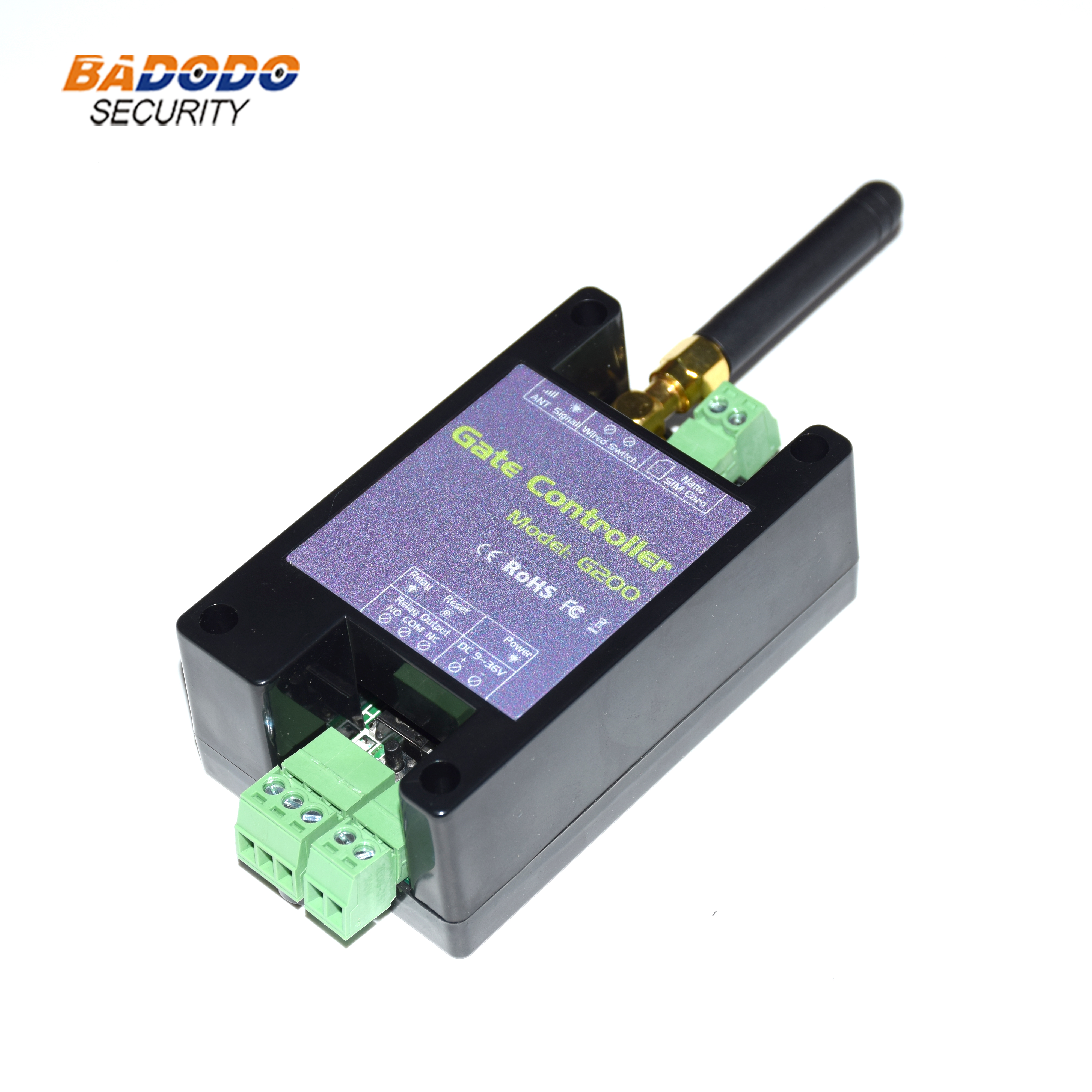 GSM 3G Gate Opener G200 Remote Control Single Relay Switch For Sliding Swing Garage Gate Opener ( Replace RTU5024 )