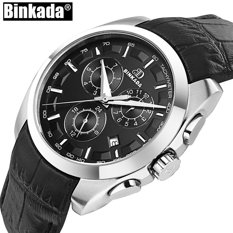 BINKADA Mechanical Men Business Watches Luxury Sport Mens  Multifunctional Automatic Watch Man Full Steel High Quality  BINKADA Mechanical Men Business Watches Luxury Sport Mens  Multifunctional Automatic Watch Man Full Steel High Quality