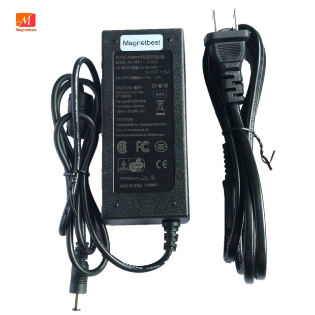 US $15 34 7% OFF 19V 2A Power Supply Charger For harman / kardon Onyx  Studio 1 2 3 4 Bluetooth Portable Wireless Speaker Power Adapter-in AC/DC