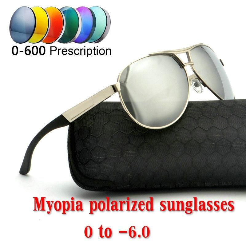 4cd7d4e169d Finished myopia polarized sunglasses oversized men and women prescription  round driving sunglasses polarized prescription lensNX