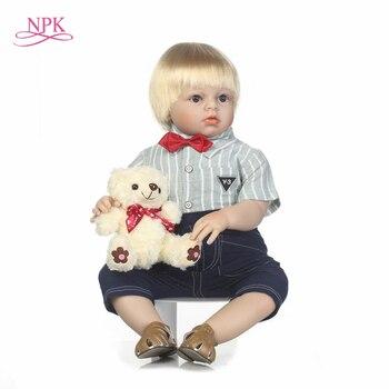 NPK simulation lifelike reborn toddler doll 28inch handmade doll soft touch boy doll Favorite gift for children 1
