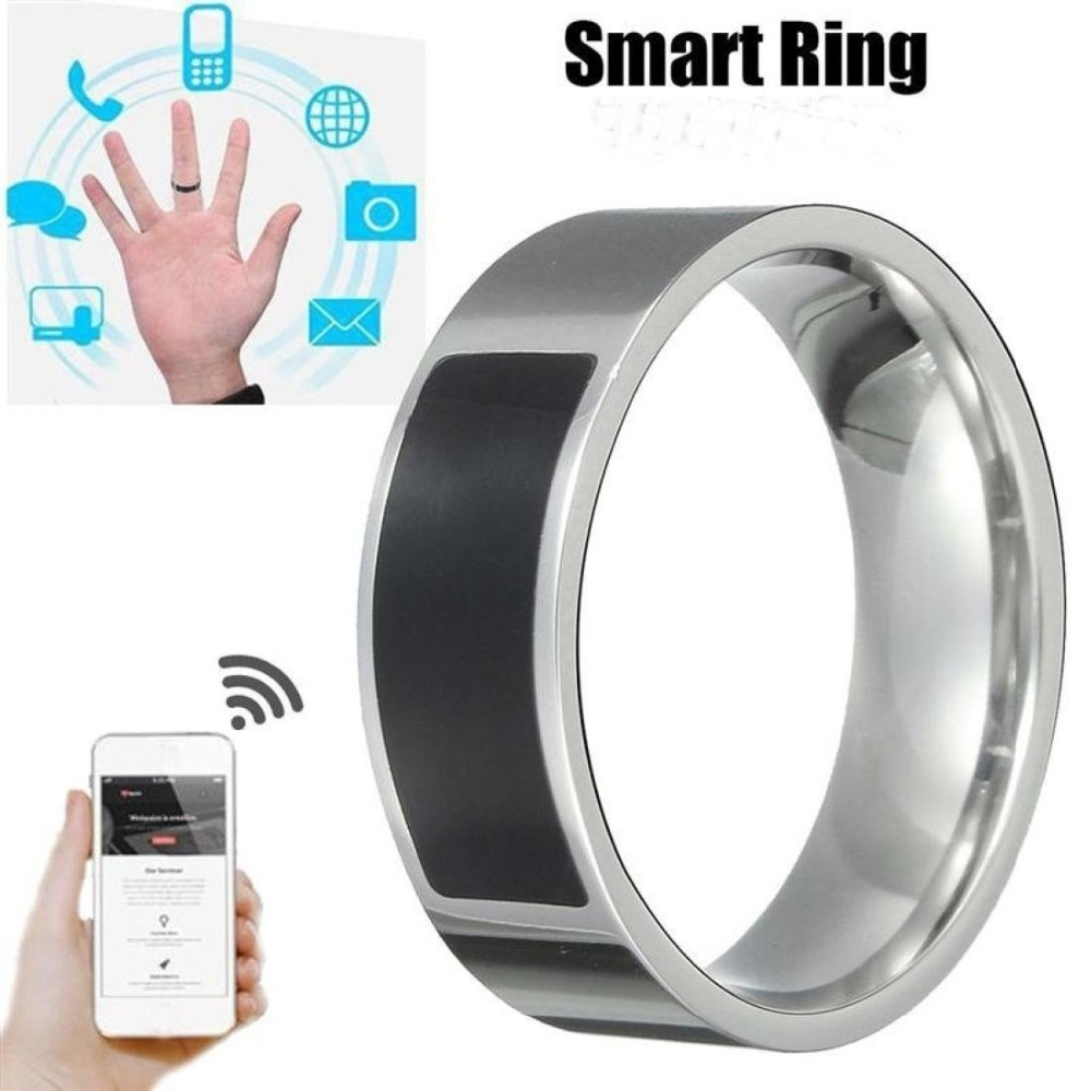 Smart Finger Ring NFC Chips Ring Waterproof For Android Mobile Phone Wear Magic RFID Card Ring Titanium Steel Ring 6924 magic ring phantom impregnable fortress magic set white blue