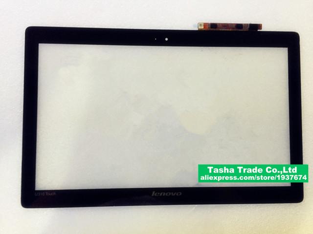 13.3 toque digitalizador pantalla táctil de cristal digitalizador de pantalla para lenovo u310 con arañazos