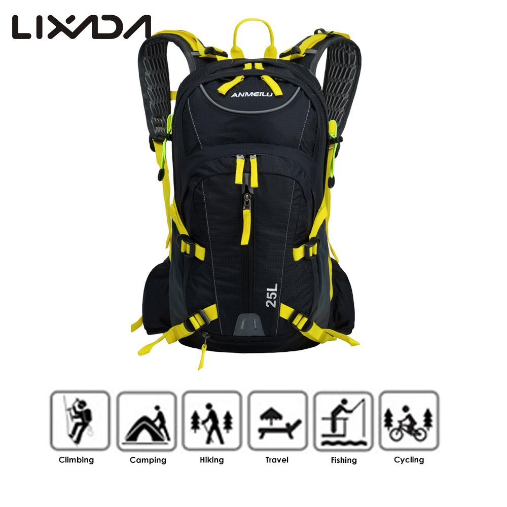 25L Water resistant Cycling Bicycle Bike Shoulder Backpack Ultralight Outdoor Sports Riding Hydration Water Bag with
