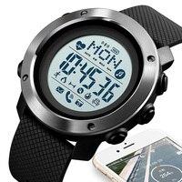 Bluetooth Intelligente Orologio Per Android Usura Android OS IOS Smartwatch Uomini di Sport Della Vigilanza Della Bussola relógio inteligente SKMEI