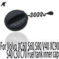 Auto Auto Öl Kraftstoff Tank Abdeckung Für Volvo XC60 S60 S80 V40 XC90 S40 C30 C70 Kraftstoff tank innere kappe interne kraftstoff tank abdeckung 31261589-in Innentank-Abdeckungen aus Kraftfahrzeuge und Motorräder bei