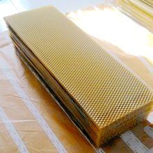 Чистый Apis Mellifera лист основания из пчелиного воска