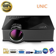 UNIC UN46+ Projector Mini LED Projectors Multimedia home theater Full HD Wireless wifi