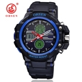 Ohsen Men Watch Waterproof Multiple Time Zone Outdoor Sports Relogio Hour Clock Top Brand Luxury Mens Quartz Military Watches