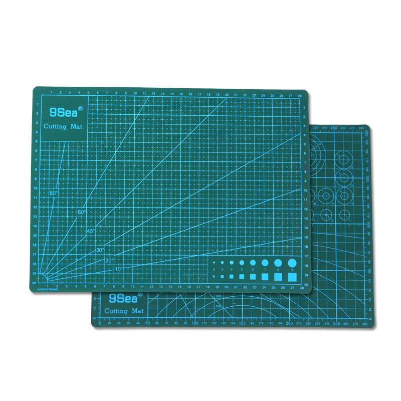 PVC Double-Sided Cutting Mat A4 Excellent Model Making Board Self Healing Paper Cutting Board DIY Mat Office Supplies