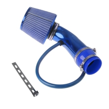 "Free delivery Hot New 1 Set 76mm 3"" Auto Car Cold Air Intake Induction Pipe Kit Filter Tube System Universal"