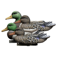 4 pcs Floating Duck Decoy Duck Hunting Decoys Hunting Game Mallard Waterfowl Stand Sentry Drake 14in 3D simulation bait