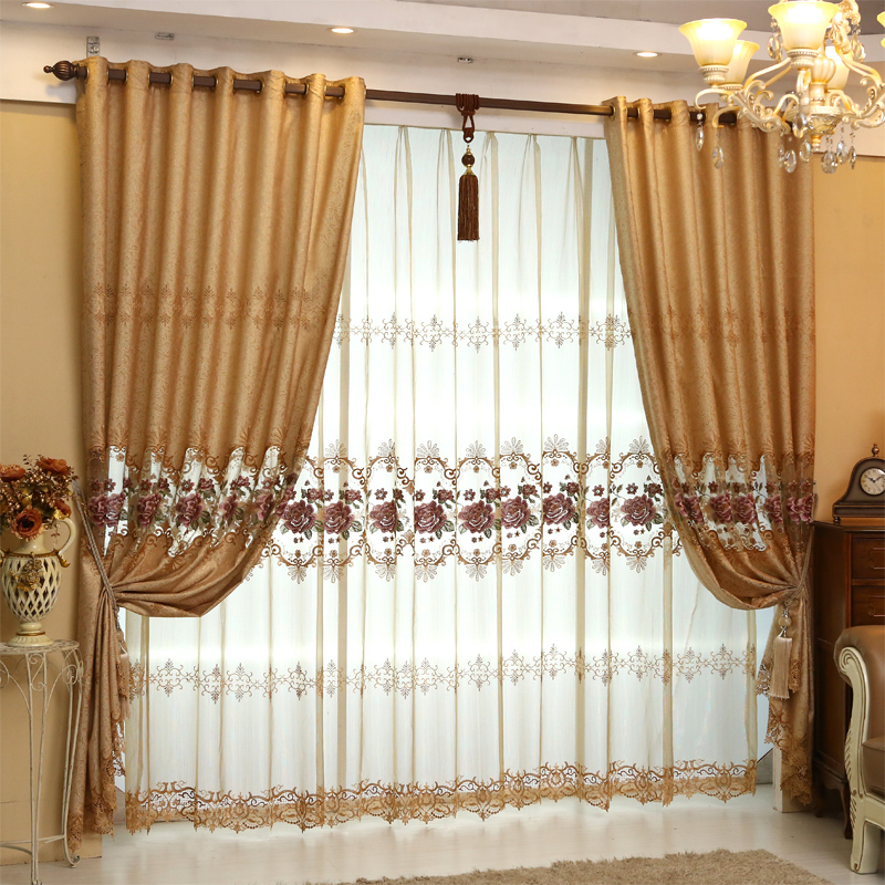 Aliexpress  Buy Custom Made European Royal Luxury Curtains - luxury curtains for living room