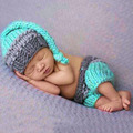 Newborn Photo Props Baby Boy Girls Crochet Knit Costume Photography Prop Outfits