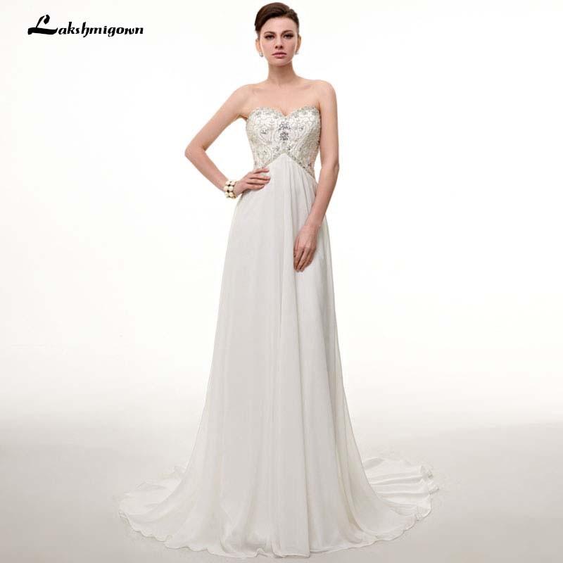 Aliexpress Com Buy Vestido De Noiva 2017 A Line Beach: Aliexpress.com : Buy Simple A Line Beach Wedding Dress