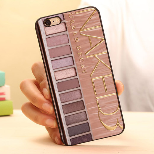 wholesale dealer fb1dd 12775 Cute Makeup Set Case Hot Eye Shadow Hard Skin Mobile Phone Cases ...