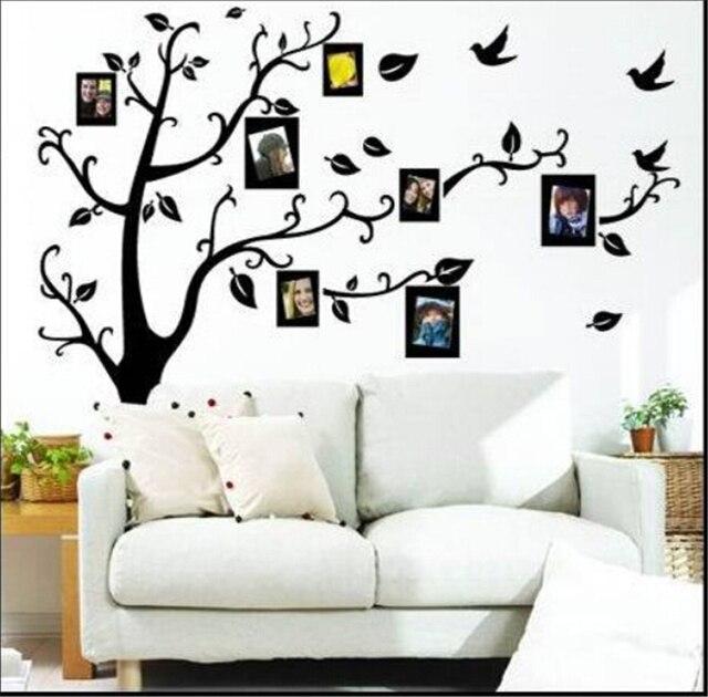 Jm7186 Marcos árbol de vinilo pegatinas de pared para niños ...