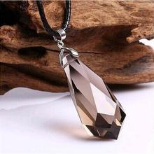 Красивый природный дымчатый кварц Кварц Подвески маятник кристалл исцеления