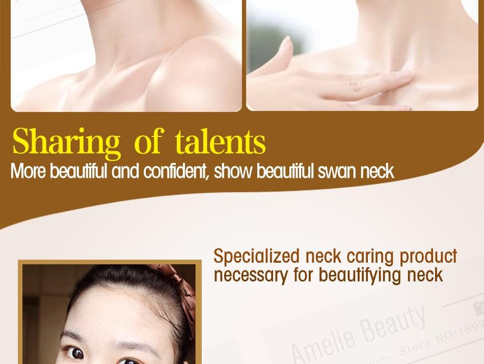 MEIKING Neck Cream Skin Care Anti wrinkle Whitening Moisturizing Firming Neck Care 100g Skincare Health Neck Cream For Women 8