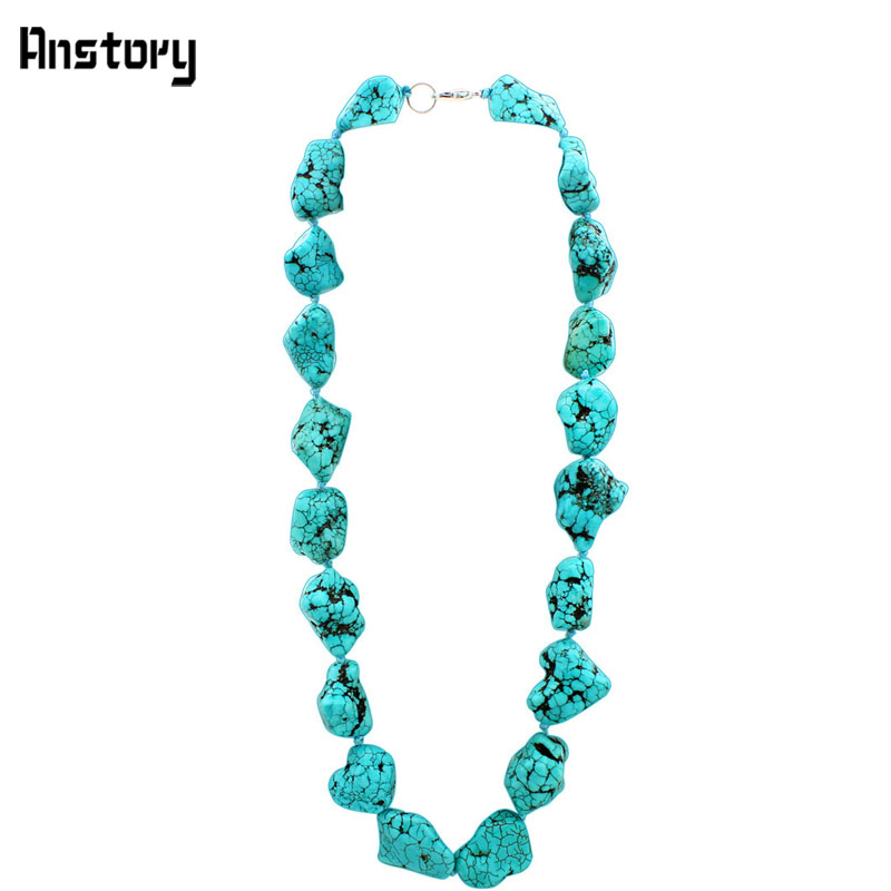Natural Irregular Stone Chokers Necklace Delicate Wedding Party Heavy Fashion Jewelry TN310