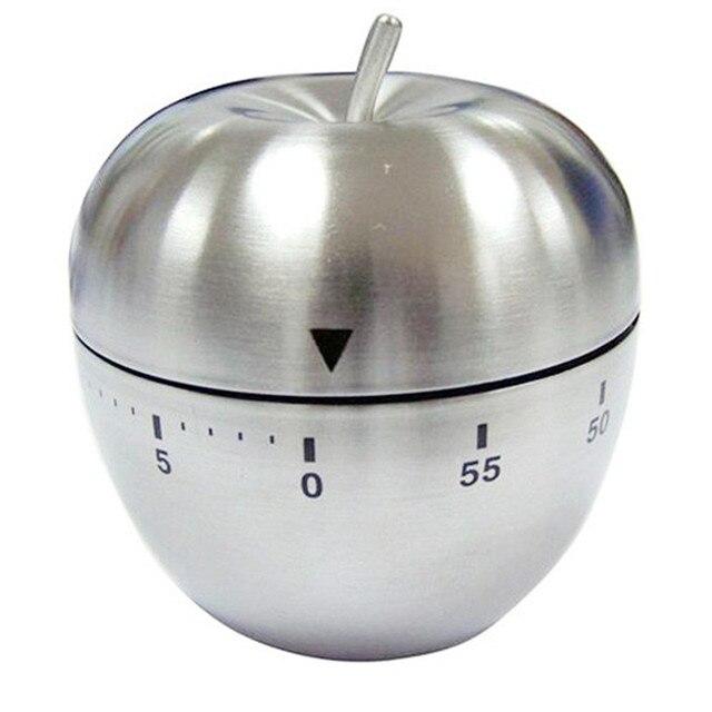 Mela Dell\'acciaio inossidabile Quadrante Timer Da Cucina Meccanica ...
