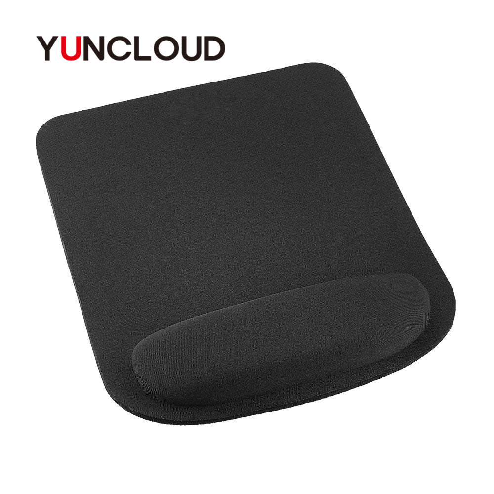YUNCLOUD High Quality Mousepad Wrist Protect Optical Trackball PC Thicken Mouse Pad Support Wrist Comfort Mouse Pad For Game pad