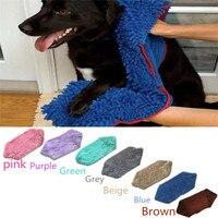 Pet Wasseraufnahme Bad Handtuch Langhaarigen Hund Baden Schnell Trocknend Handtücher