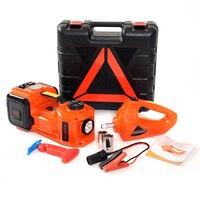 1 комплект 3 в 1 функции автомобиля Электрический гидравлический домкрат и электрический ключ для ремонта автомобиля инструменты воздушный