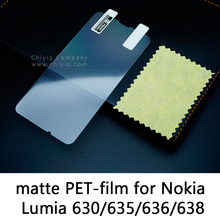 Glossy Frosted Matte Anti glare Tempered Glass Protective Film Screen Protector For Nokia Lumia 630 635