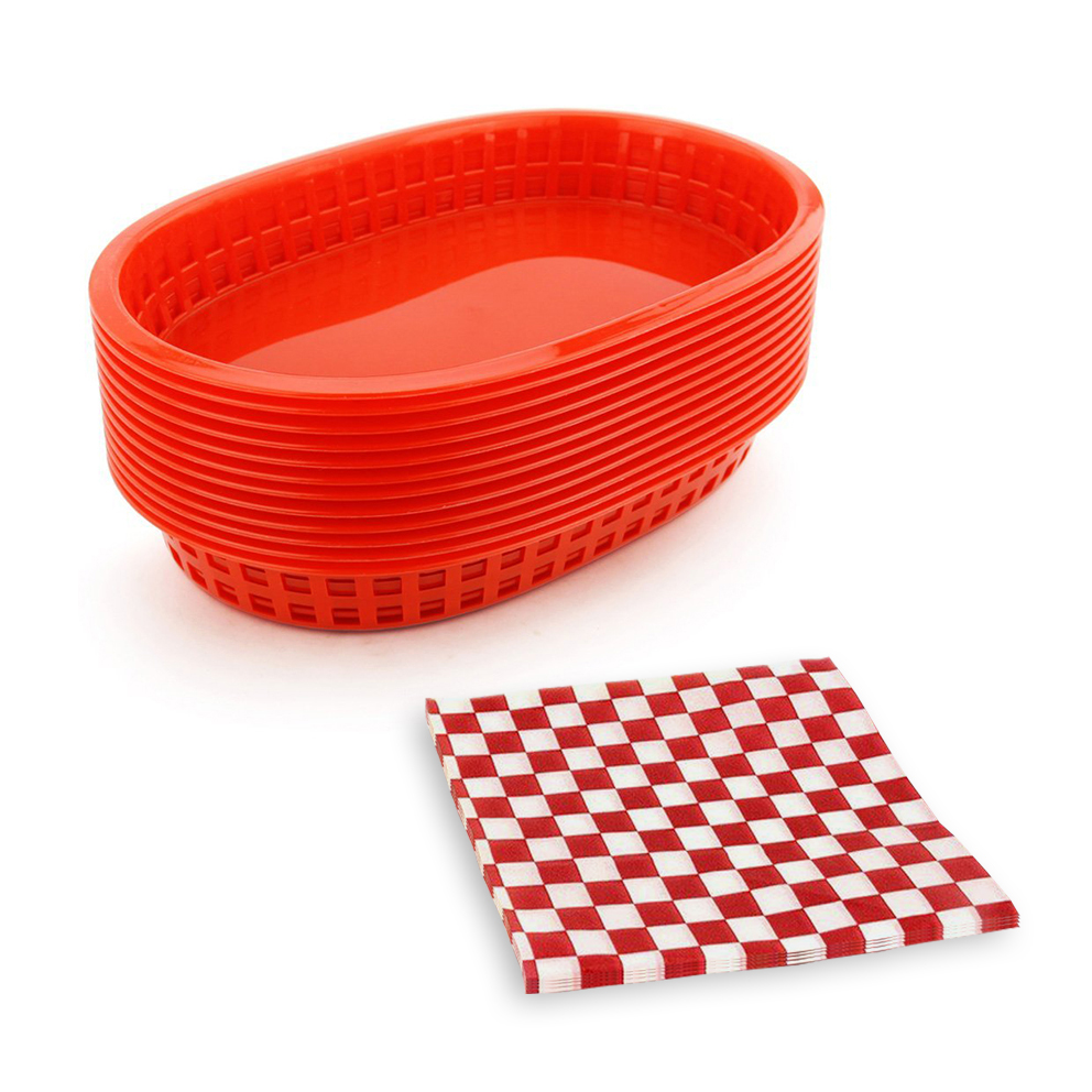 paper food baskets reviews online shopping paper food baskets new dinner plates set 12pcs fast food baskets 24pcs checkered wax paper good quality serving platter plastic food trays 4 color
