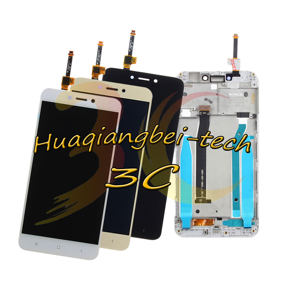 5.0'' New For Xiaomi Hongmi 4X / Redmi 4x MAT136 Full LCD DIsplay + Touch Screen Digitizer Assembly With Frame 100% Tested