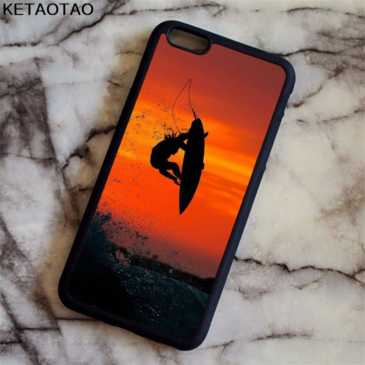 KETAOTAO Great ocean surf ocean estate Phone Cases for iPhone 4S 5S 6 6S 7 8 X PLUS for Samsung S8 Case Soft TPU Rubber Silicone