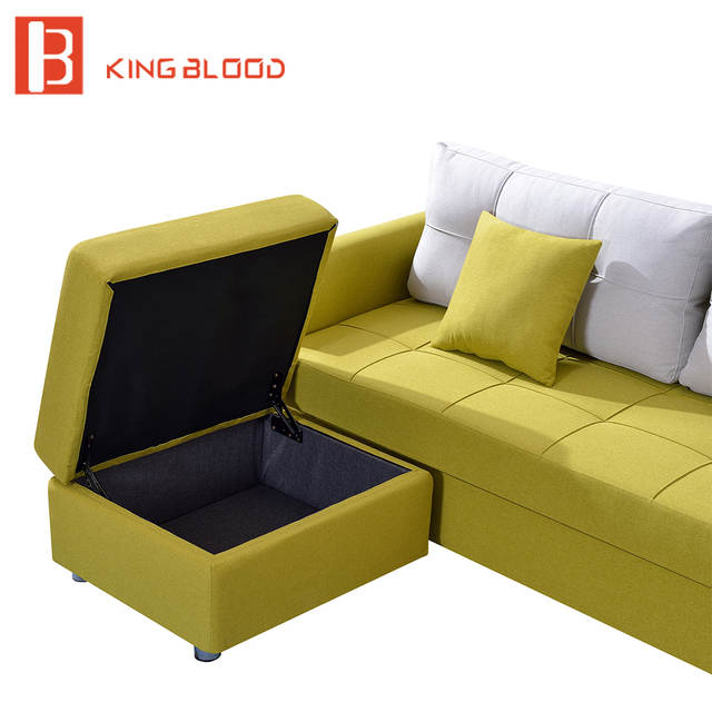 Us 420 0 Canada Fabric Storage Sofa Bed Wooden Designs In Living Room Sofas From Furniture On Aliexpress 11 Double Singles