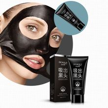 2017 New Black Mask Facial Mask Nose Blackhead Remover Peeling Peel Off Black Head Acne Treatments Face Care Suction YC36