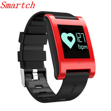 Smartch Original Smart band DM68 fitness watch blood pressure smart Bracelet pedometer band waterproof on wrist watch sport alar