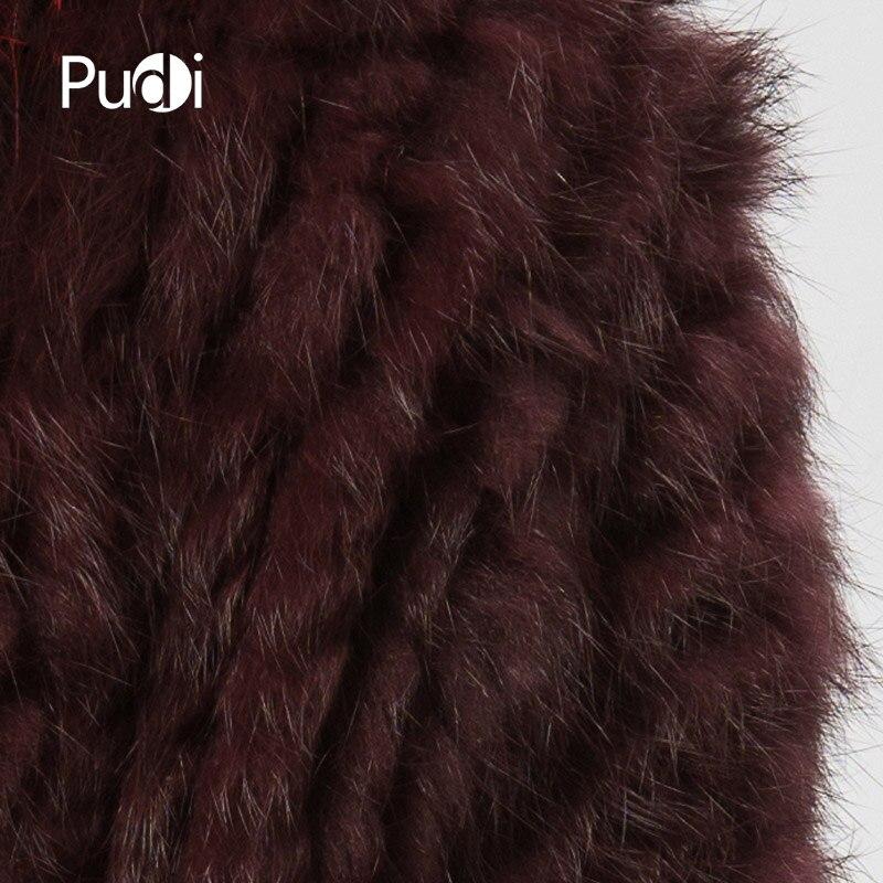 Fourrure Et Hiver Châle Pardessus Femmes Nouveau Veste Couleur Laveur Cr056 Tricoté Lapin Avec De Vrai Chaud Véritable Manteau Raton Tricot 6qwXTY