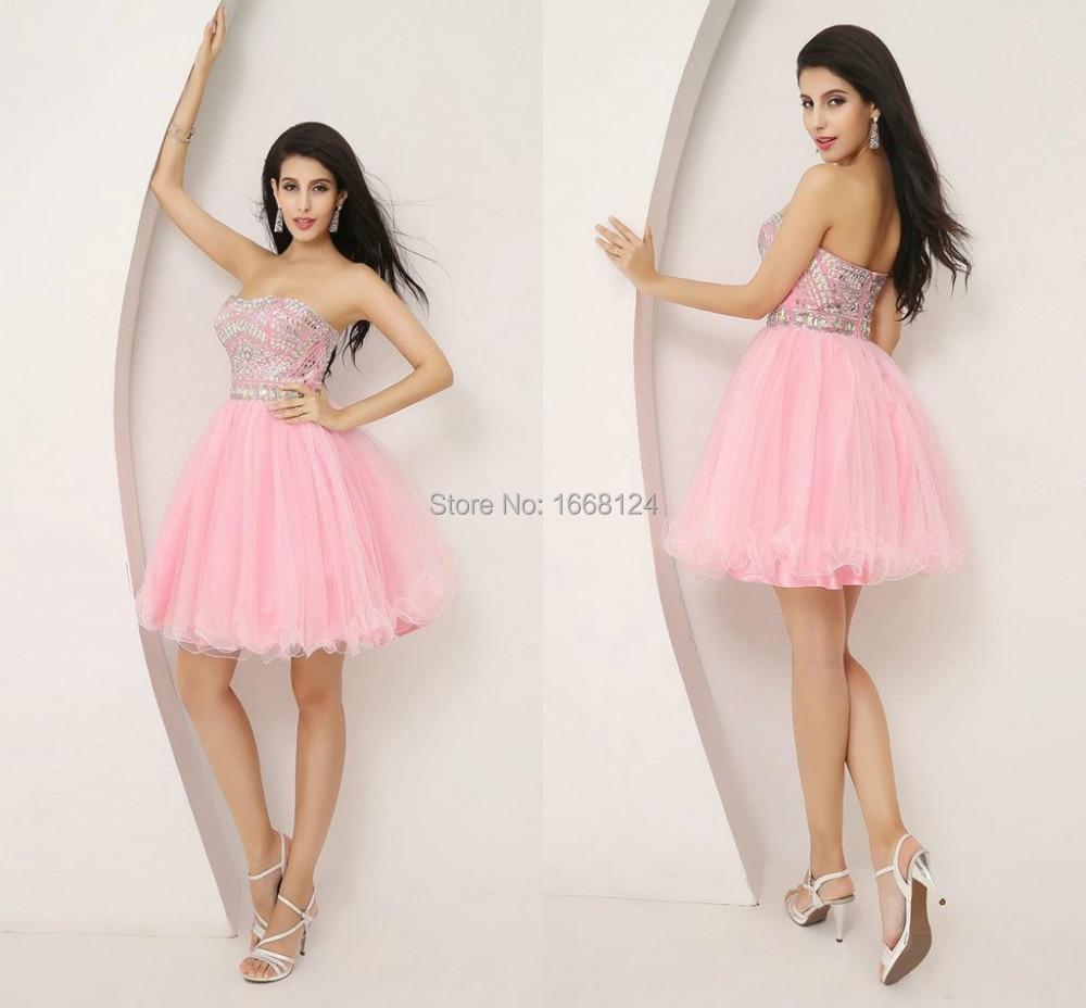 2014 recién llegado vestidos cortos para Homecoming balón vestido de ...