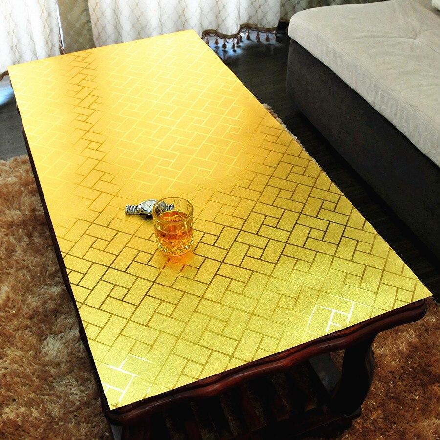 Красочные мягкие стекло скатерти журнальный столик скатерть ПВХ водонепроницаемый чехол на стол oilproof обеденный стол мат