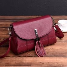 Sac A Main Femme Crossbody Bags For Women 2018 Woman Messenger Bags Lady Chains Tassel Handbags Women Leather Shoulder Bag Girl