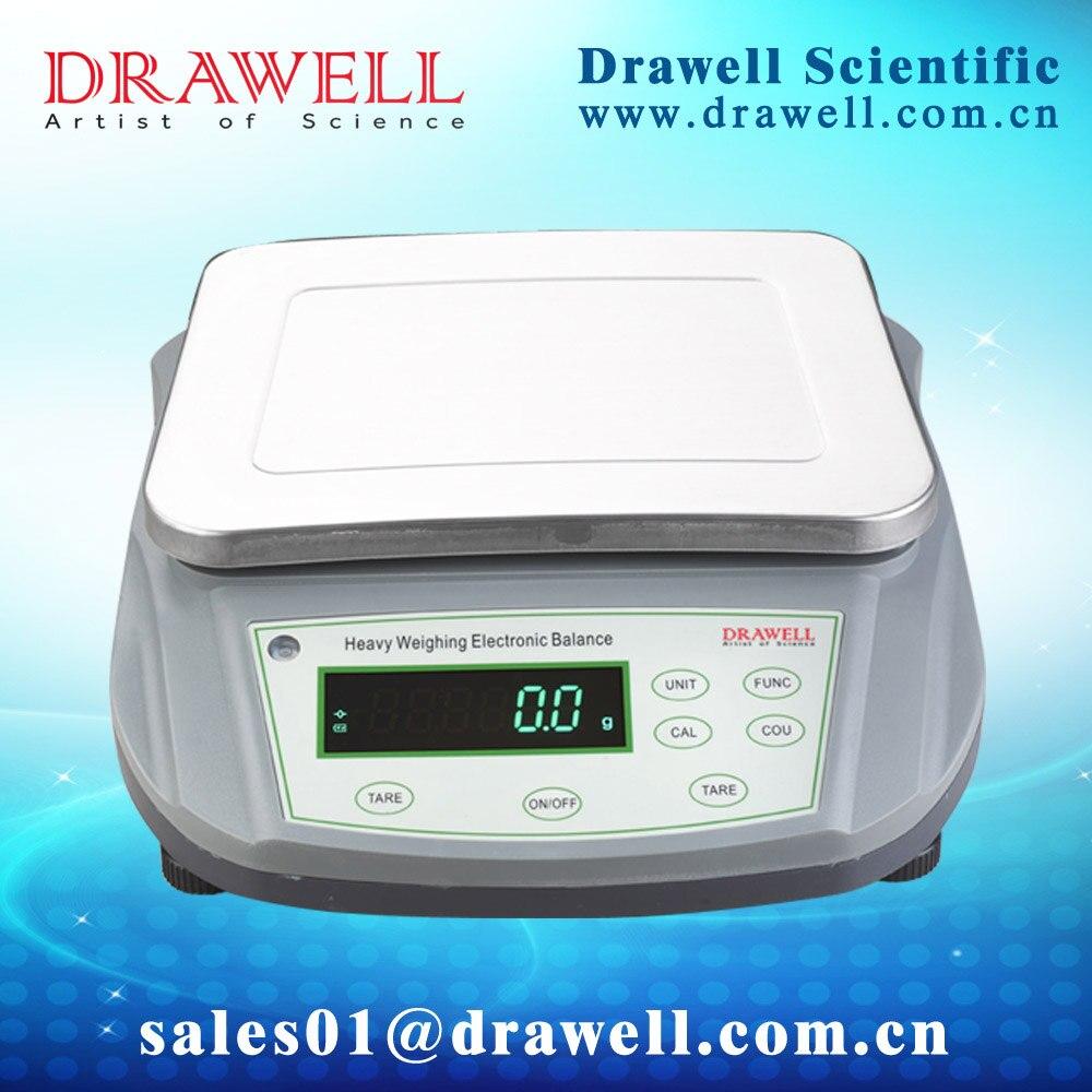 Высокая Ёмкость электронные весы в низкая цена (1 г/0,1 г; внешний калибровки), 0-10000 г