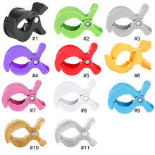 Colorful Baby Car Seat Accessories Toy Lamp Pram Stroller Peg To Hook Cover Blanket Clips 6pc baby blanket clip for play gym baby car seat accessories lamp pram stroller peg teether toy hook cover children s goods toys
