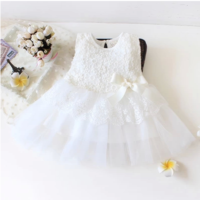 be1297de5c53 2016 Sleeveless Newborn cheap christening clothes for baby girl ...